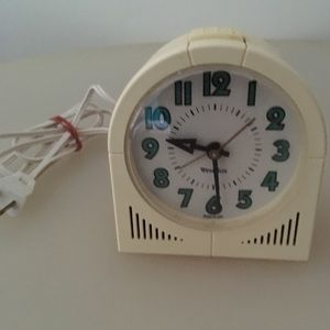 Westclox Vintage Electric Alarm Clock